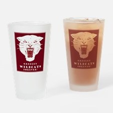 GHS Wildcat Drinking Glass