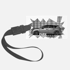 Park Hard Mazda 3 Luggage Tag
