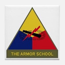 The Armor School Tile Coaster
