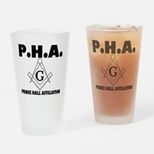 PHA-w-mason Drinking Glass