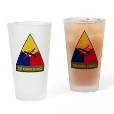 The Armor School Drinking Glass