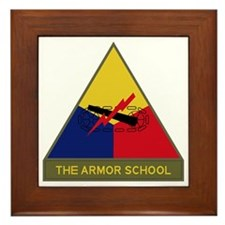 The Armor School Framed Tile