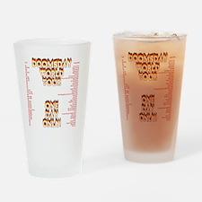 doomsday1 Drinking Glass