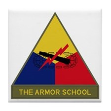 The Armor School Tile Coaster