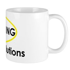 Black Winning Health Solutions Logo (Sc Mug