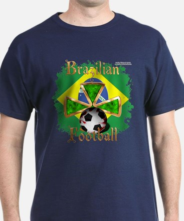 Brazil Football Spice T-Shirt