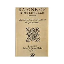 King-Edward-1596-16x20 Rectangle Magnet
