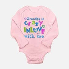 Grandpa Loves Me Long Sleeve Infant Bodysuit