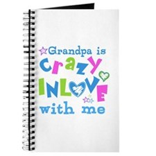 Grandpa Loves Me Journal