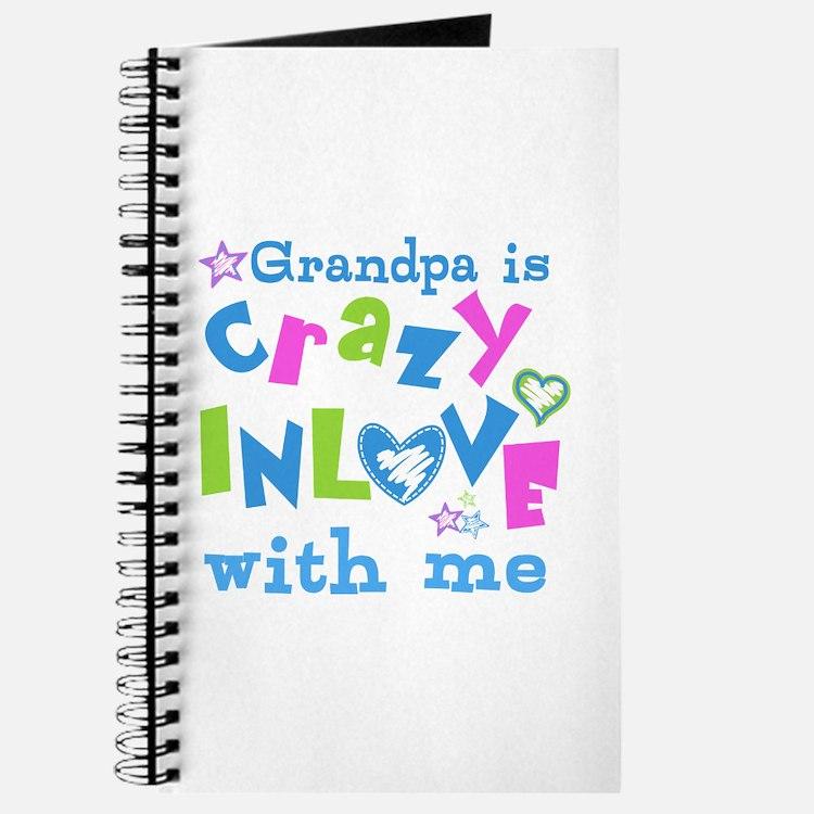Grandpa Loves Me Journal