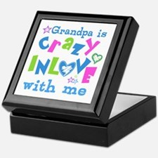 Grandpa Loves Me Keepsake Box