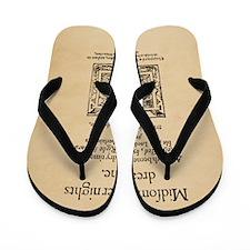 Midsummer_16x20-Square Flip Flops