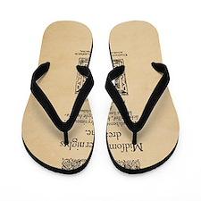 Midsummer_16x20-Ornament Flip Flops