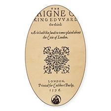 King-Edward-1596-miniposter Decal