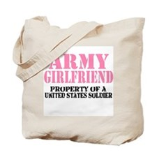 ARMY Girlfriend Property of a Tote Bag