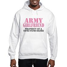 ARMY Girlfriend Property of a Jumper Hoody
