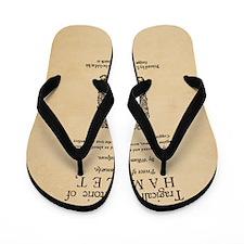 hamlet-1605-poster-Ornament Flip Flops
