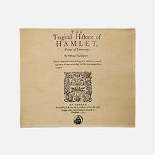 hamlet-1605-poster-Ornament Throw Blanket