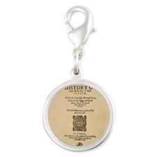 Henry-IV-Pt1-Ornament Silver Round Charm