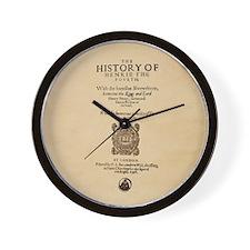 Henry-IV-Pt1-Ornament Wall Clock