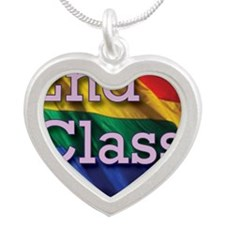 2nd Class Silver Heart Necklace