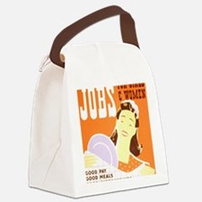 Jobs for Women Canvas Lunch Bag