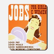 Jobs for Women Mousepad