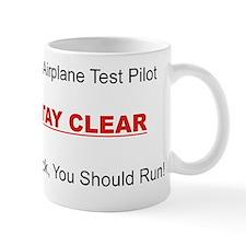 test pilot Small Mug