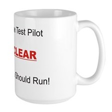 test pilot Mug