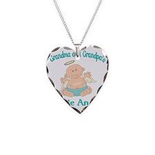 gram grap angel Necklace