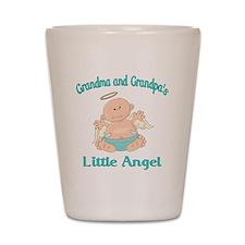 gram grap angel Shot Glass