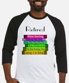 Retired book Stack 2 Baseball Jersey