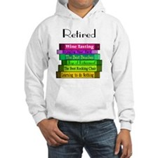 Retired book Stack 2 Hoodie