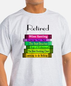 Retired book Stack 2 T-Shirt