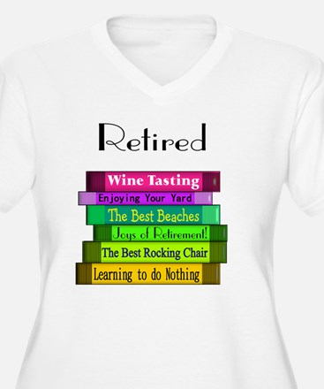 Retired book Stac T-Shirt