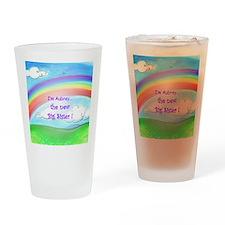 aubrey rainbow Drinking Glass