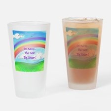 aubrey rainbow Drinking Glass