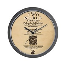 The_Two_Noble_Kinsmen-Square Wall Clock