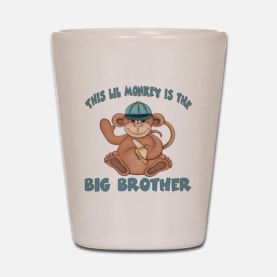 big brother monkey2 Shot Glass