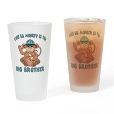 big brother monkey2 Drinking Glass