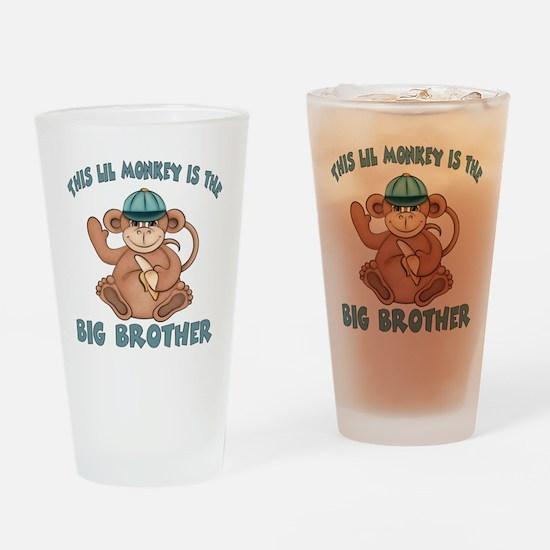 big brother monkey2 Drinking Glass