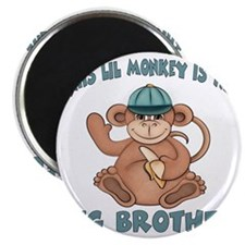 big brother monkey2 Magnet