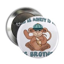 """big brother monkey2 2.25"""" Button"""