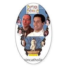 CAPTAIN CATHOLIC - EPISODES IV, V,  Decal