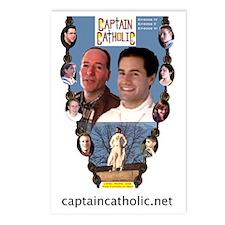 CAPTAIN CATHOLIC - EPISOD Postcards (Package of 8)