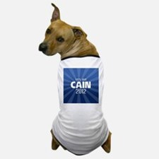 cain2012_04_button2yes Dog T-Shirt