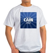 cain2012_04_button2yes T-Shirt