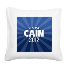 cain2012_04_button2yes Square Canvas Pillow