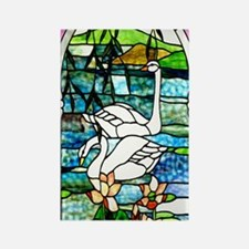 Beautiful_Swans_iPhone 3 Rectangle Magnet