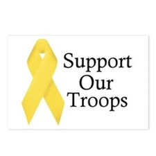 Yellow Ribbon Support Postcards (Package of 8)